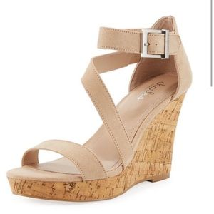 Charles David wedge sandal